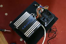 pc power supply powering car amplifier in home ecoustics com