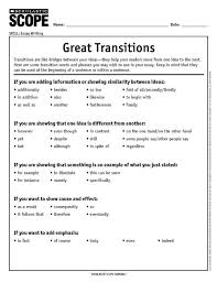transitional words to aid in composition english spanish essay transitions in spanish