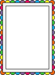 Rainbow Page Border Rainbow Page Border Free S Atrainbows Pictures Free Coloring