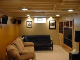 unfinished basement lighting ideas. beautiful minneapolis basement ceilings pinterest basements tv nook and ceiling unfinished lighting ideas
