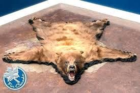 fake bear skin rug fake bear skin rug with head fake bear skin rug with head