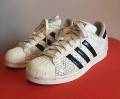 womens adidas superstars size 7 womens adidas superstar trainers white snakeskin uk size 7 great