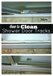 door cleaner of the most popular cleaning tricks on glass shower door cleaning hard water stains
