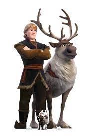 Kristoff und Sven von Frozen 2 Official Disney Cardboard Cutout