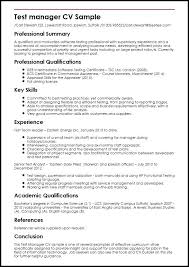 Qa Manager Resume Manager Resume Quality Control Manager Resume