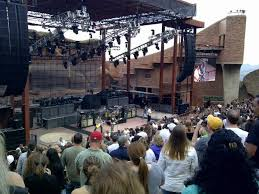 Red Rocks Amphitheatre Seating Chart All Reserved Red Rocks Amphitheatre Section Reserved Row 14 Seat 104