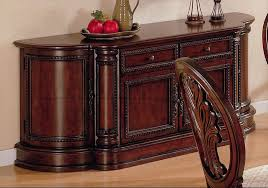white dining room buffet. Best Varnished Wood White Dining Room Buffet With Storage And Fruits On The Top