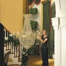 200 pound capacity aladdin light lift motorized chandelier system all200