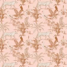 Behang Jungle Blush May And Fay