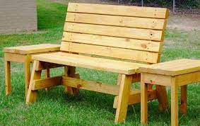 bench with these free diy woodworking plans