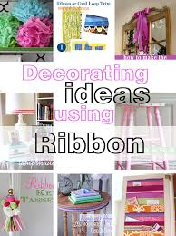 room decorative ideas easy diy decorating using ribbon in my own style diy kitchen decorating