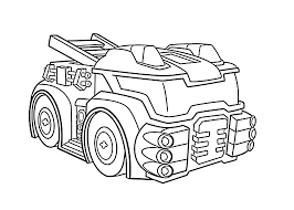 Heatwave The Fire Bot Coloring Pages