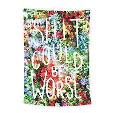 bohemian wall art wall tapestry flower tapestry fl words tapestry wall hanging tapestry wall decor e
