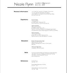 Babysitter Resume Sample Nicole Resume Jobsxs Com