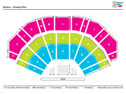 Etess Arena Seating Chart View 70 Credible One Direction Floor Seats View