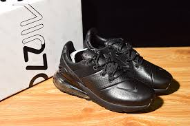 mens shoes nike air max 270 leather black ao8283 010