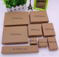 2019 kraft paper box gift box for rings pendants necklace bracelets stud paper bo gift package small ring box whole from supplymore 5 83 dhgate