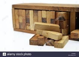 Wooden Brick Game Business risk concept with wood jenga game Stock Photo 100 95