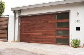 chi garage doorCHI Model 3216 in Dark Oak with stacked windows  CHI Garage