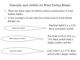 Wind Turbine Aerofoil Design Actual Power Developed By A Rotor Ppt Download