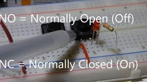 tactile switch momentary push button no normally open learn Normally Open Momentary Switch Diagram tactile switch momentary push button no normally open learn electronics circuits components youtube Normally Open Momentary Key Switch