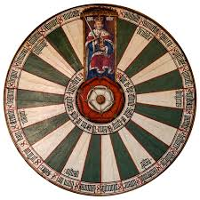 file king arthur s round table at winchester castle winchester hampshire england