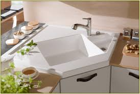 Corner Kitchen Sink Corner Kitchen Sinks Home Design Ideas
