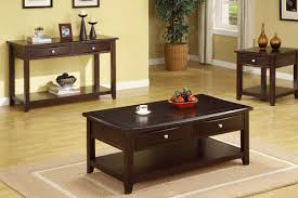 coffee table set with drawers espresso huntington beach furniture of 2 tables 0001709