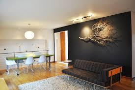 wall accent lighting. Wall Accent Lighting Living Room Midcentury With Dark Neutral
