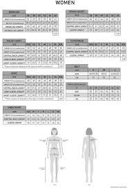 Breeches Size Chart Cavalleria Toscana Ladies Breeches