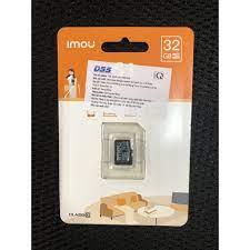 Thẻ Nhớ 32Gb 64Gb 128Gb DAHUA DSS IMOU Micro SD Chính Hãng - BH 24T Chuyên  cho camera EZVIZ IMOU HIKVISION DAHUA