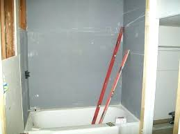 cost to hang sheetrock installing bathroom trendy installing drywall around shower surround hanging ceiling alone cost
