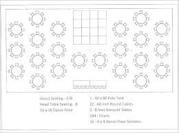 guest seating chart template banquet unique plan wedding party table char