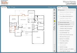 house plans online. Wayne Homes Interactive Floor Plan Customize House Plans Online R