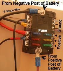 cheap rv living com installing a 12 volt fuse block installing a 12 volt fuse block