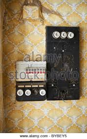 an old fuse box stock photo, royalty free image 36783193 alamy Old Fuse Box Wiring old fuse box stock photo old fuse box wiring diagrams