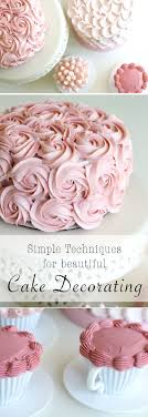 4 simple and stunning cake decorating techniques 15 diy