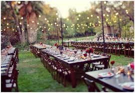 Backyard Wedding Ideas For Summer  Christmas Lights DecorationSummer Backyard Wedding