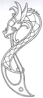 template of a dragon powerful viking shield template image result for patterns vikings