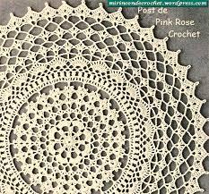 Free Crochet Doily Patterns Crochet Free Crochet Doily