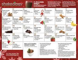 holiday shakeology recipes