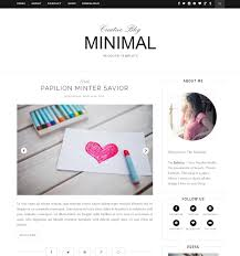 Simple Blog Templates 5 Best Minimalist Blogger Templates Clean And Simple Templates