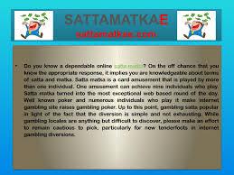 Satta Matka Guessing Kalyan Chart Sattamatkae In 2019