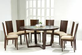 Glass Dining Room Tables Round Glass White Round Dining Room Tables Glass Top Dining Table