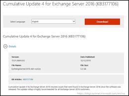 Microsoft Updates Exchange Server 2016 And Legacy Versions Winbuzzer