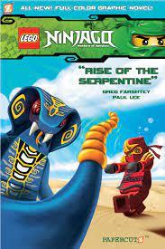 Ninjago Graphic Novels 3: Rise of the Serpentine Lego Ninjago: Amazon.de:  Farshtey, Greg, Lee, Paul, Henrique, Paulo, Smith, Laurie E.:  Fremdsprachige Bücher
