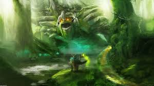 lovely dota 2 tiny treant protector wallpapers hd desktop and