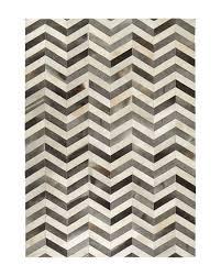 exquisite rugs windsor chevron hide rug 8 x 11