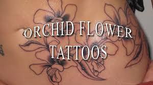 значение тату орхидея у девушки