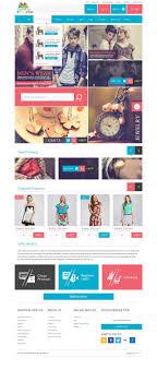 Ecommerce Web Design Layout Modern Modular Gift Shop E Commerce Website Psd Design